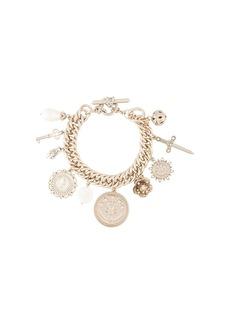 Marchesa charm chain-link bracelet