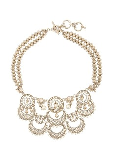 Marchesa cut-out detail necklace