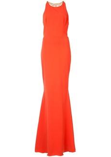 Marchesa embellished back gown