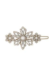 Marchesa embellished flower brooch