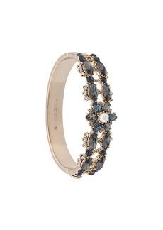 Marchesa embellished flower cuff bracelet