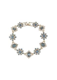 Marchesa floral crystal bracelet