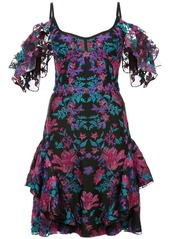 Marchesa floral embroidered mini dress abv5af91ce8 a