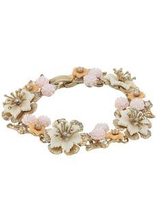 Marchesa Force of Nature 7.25 Flex Floral Bracelet