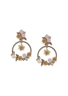 Marchesa Force Of Nature hoop earrings