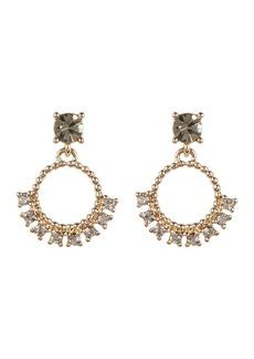 Marchesa Imitation Pearl & Crystal Drop Earrings