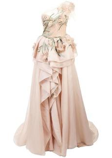 Marchesa long evening dress