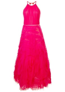 Marchesa long tulle dress