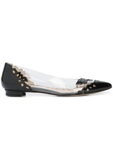 Marchesa Manuela ballerina shoes