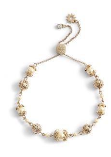 Marchesa Adjustable Slider Bracelet