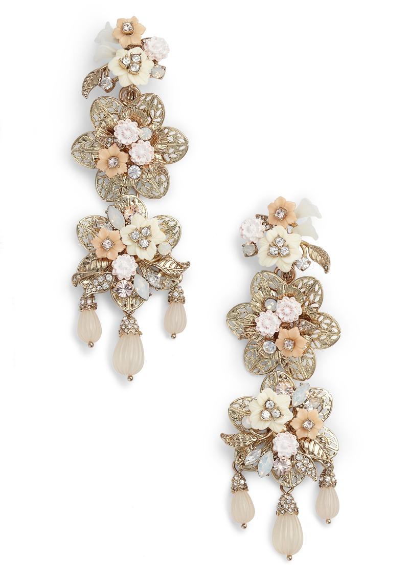 Marchesa marchesa chandelier drop earrings jewelry shop it to me marchesa chandelier drop earrings arubaitofo Images