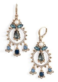 Marchesa Crystal Chandelier Earrings