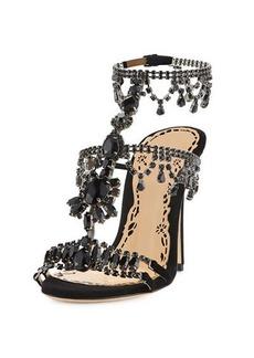Marchesa Grace Strappy Embellished Sandal