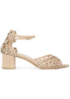 Marchesa Holly low sandals - Nude & Neutrals