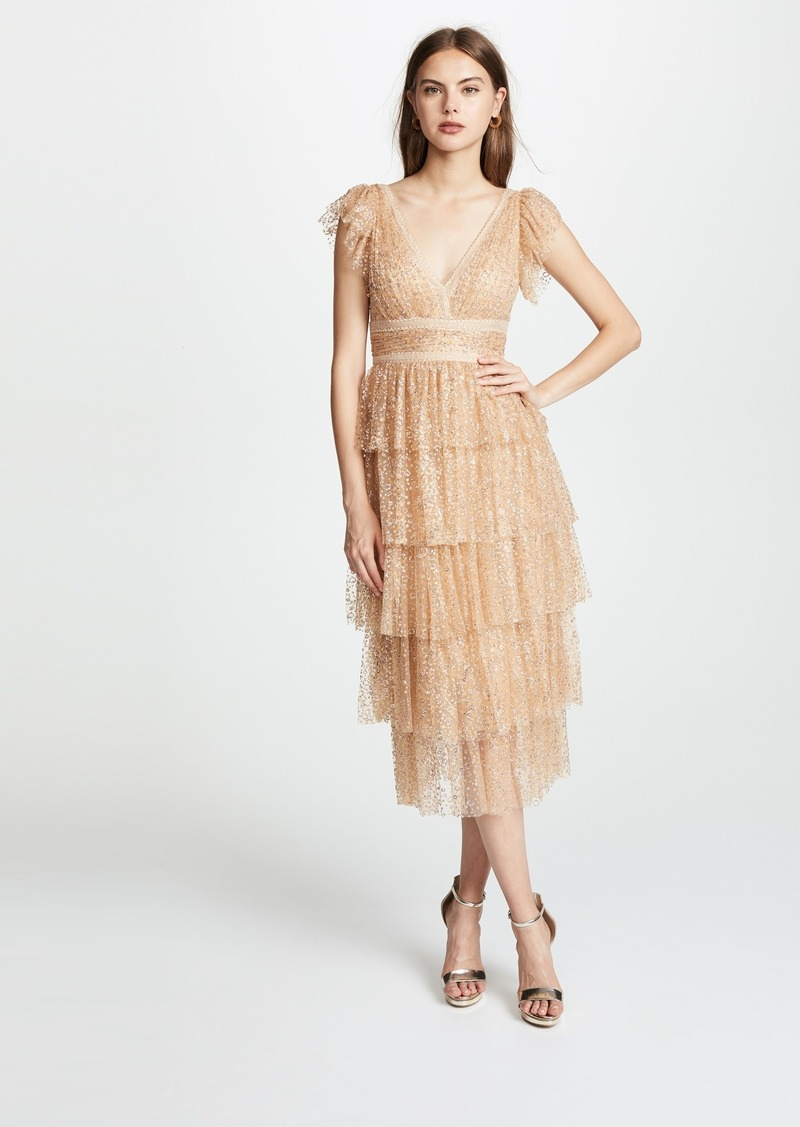 311ae040094 On Sale today! Marchesa Marchesa Notte Flutter Sleeve Cocktail Dress