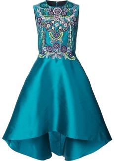 Marchesa high-low embellished dress