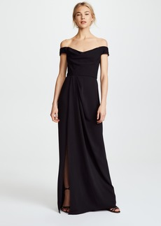 Marchesa Notte Off the Shoulder Gown