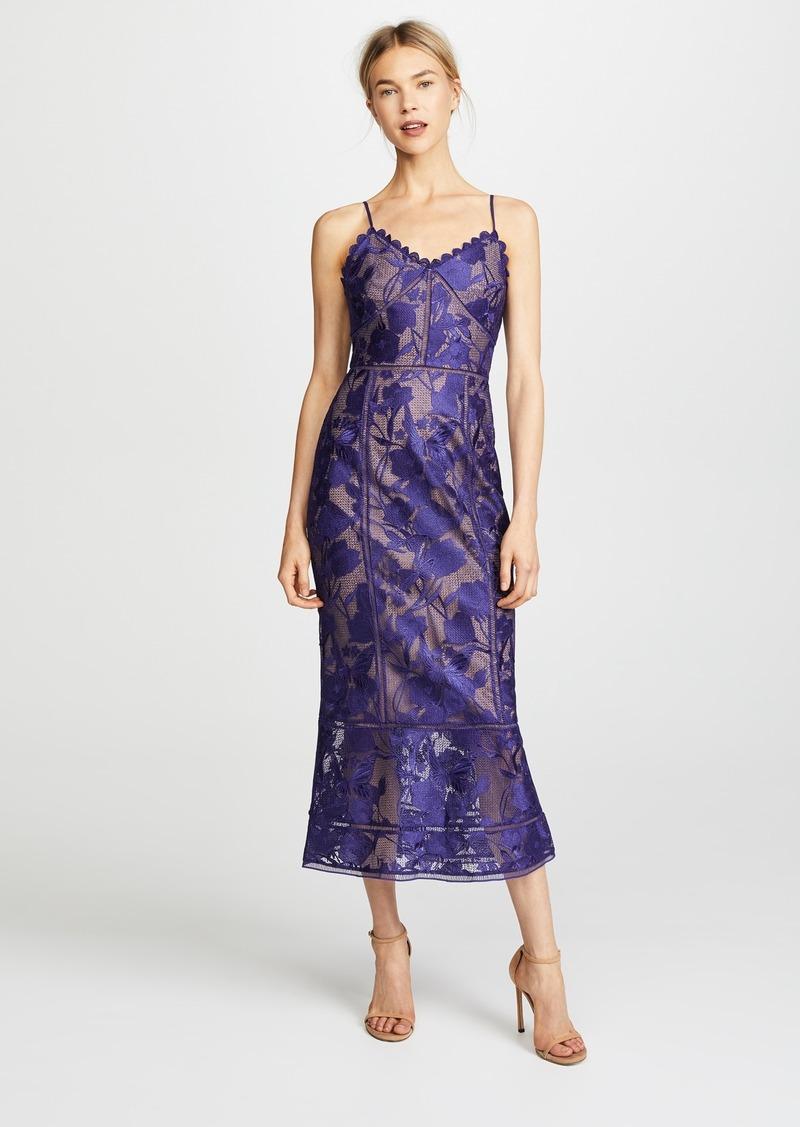 b3a815115a Marchesa Marchesa Notte Tea Length Cocktail Dress Now $318.00