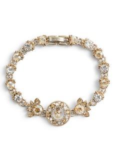 Marchesa Ornate Crystal Bracelet