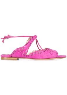Marchesa Peuton sandals - Pink & Purple