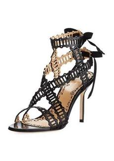 Marchesa Sarah Strappy Evening Sandal