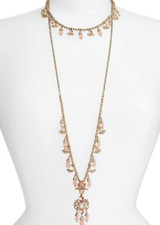 Marchesa Set of 2 Layering Necklaces