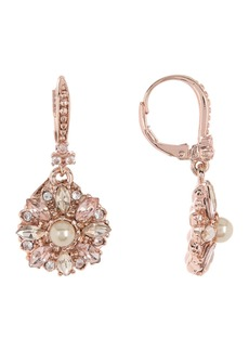 Marchesa Medallion Drop Earrings