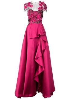 Marchesa Mikado ball gown