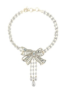 Marchesa Nightingale bow necklace