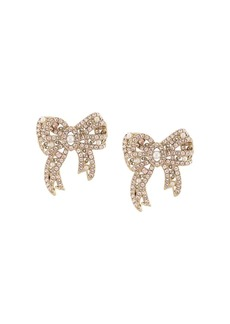 Marchesa Nightingale bow earrings