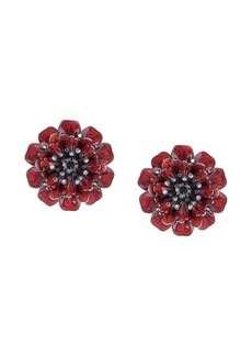 Marchesa Poppy flower earrings