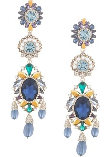 Marchesa Regal Affair embellished earrings