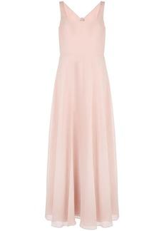 Marchesa square neck bridesmaid dress