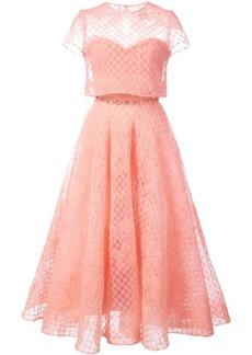 Marchesa tulle layered dress
