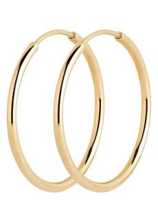 Women's Maria Black Senorita 20mm Single Endless Hoop Earring