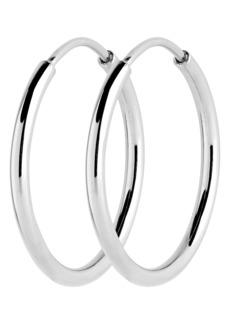 Women's Maria Black Senorita 25mm Endless Hoop Earrings