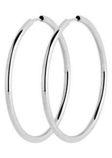 Women's Maria Black Senorita 35mm Endless Hoop Earrings