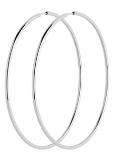 Women's Maria Black Senorita 70mm Endless Hoop Earrings