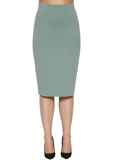 Marina Rinaldi Knit Pencil Skirt
