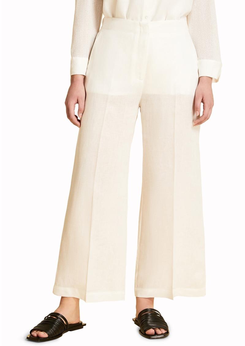 Marina Rinadi Risaia Crop Linen Pants (Plus Size)