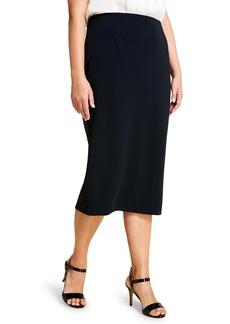 Marina Rinaldi Colonna Pencil Skirt (Plus Size)