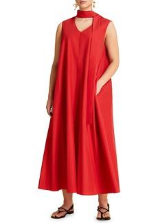 Marina Rinaldi Dedurre Trapeze Dress with Detachable Bow (Plus Size)