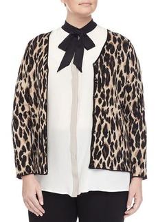 Marina Rinaldi Mimo Animal-Print Jacket