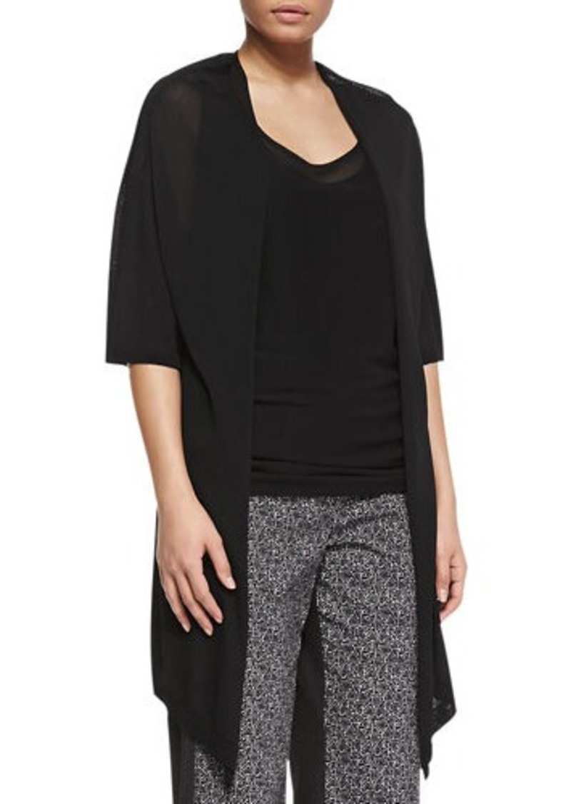 Marina Rinaldi Mirto Knitted Drape Jacket, Women's