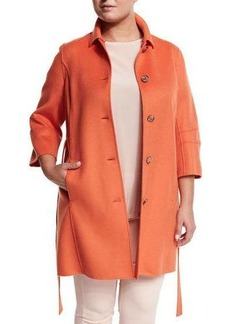 Marina Rinaldi Narcisco Wool-Blend Coat