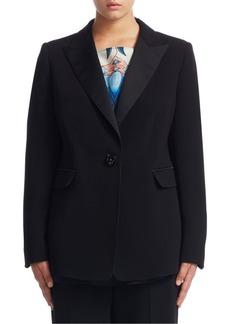 Marina Rinaldi, Plus Size Classic Buttoned Jacket