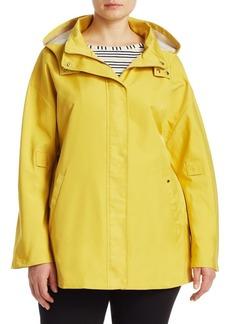Tarbes Hooded Rain Coat