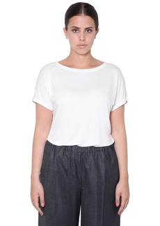 Marina Rinaldi Short Sleeve Viscose Top