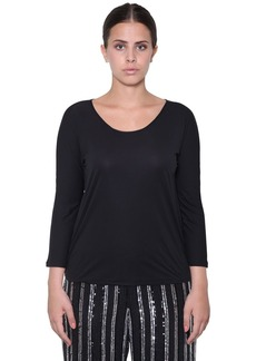 Marina Rinaldi Three Quarter Sleeve Top