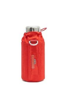 Marine Serre Water bottle and cross-body holder